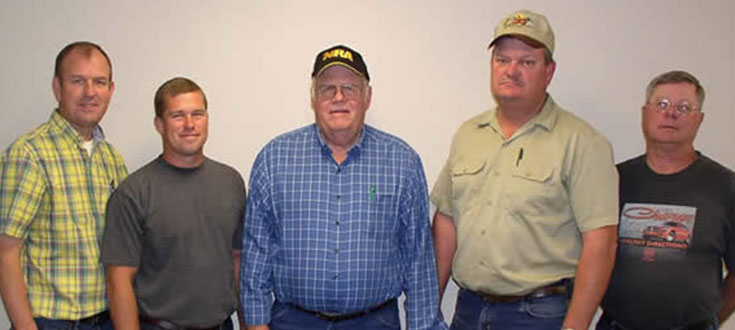 Board Members (Left to Right): Matt Herring, Dan Brunjes, Bernard Laune, John Helling, Mike Stumpe