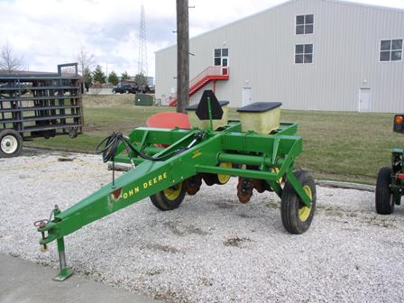 John Deere Two Row No-Till Planter