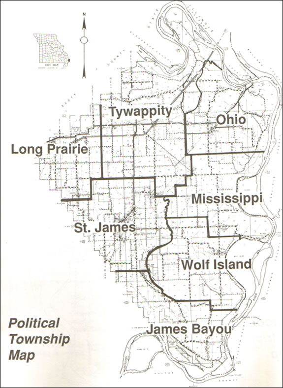 Political Township Map