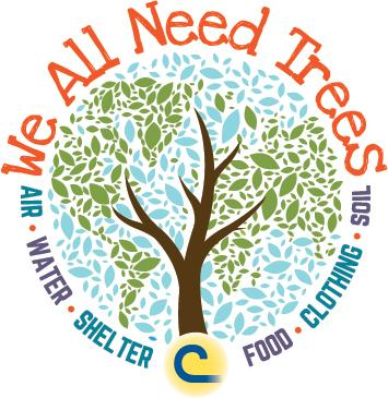 We All Need Trees Poster Contest Logo