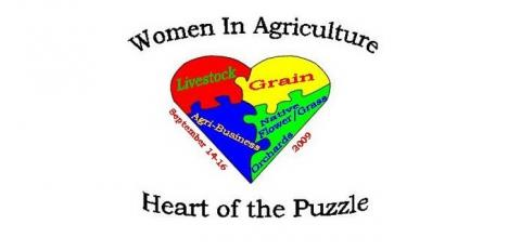 2009 WIA Heart Of The Puzzle Logo
