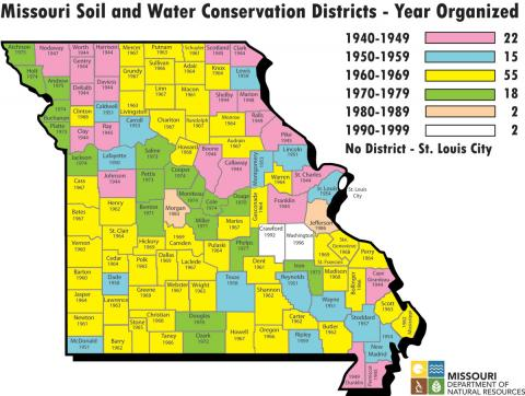 soil and water districts map